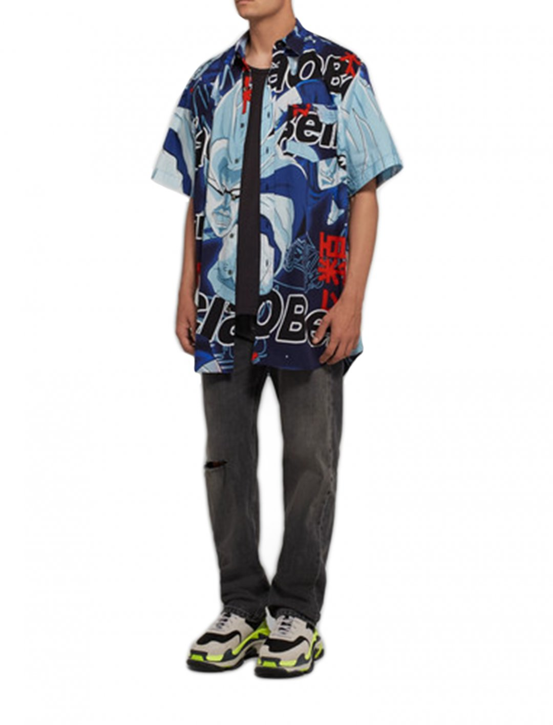 Jax Jones' Shirt Clothing Vetements