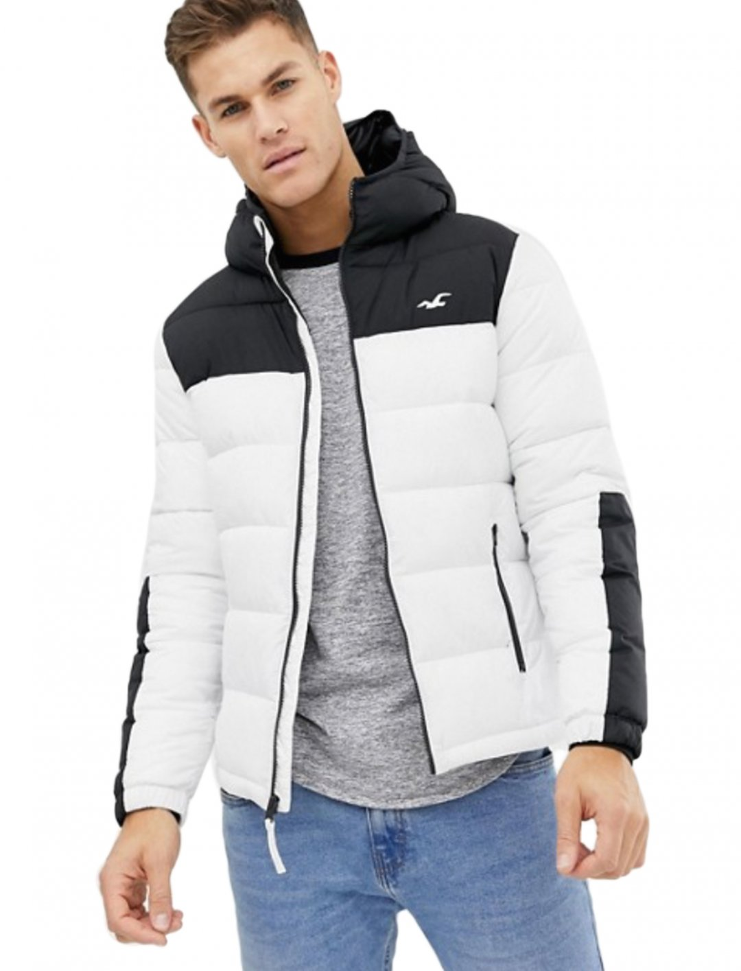 """Puffer Jacket {""""id"""":5,""""product_section_id"""":1,""""name"""":""""Clothing"""",""""order"""":5} Hollister"""