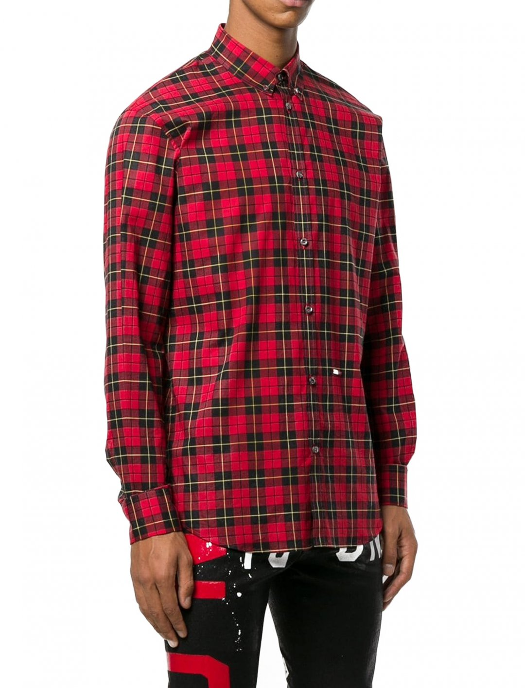 """Checked Shirt {""""id"""":5,""""product_section_id"""":1,""""name"""":""""Clothing"""",""""order"""":5} Dsquared2"""