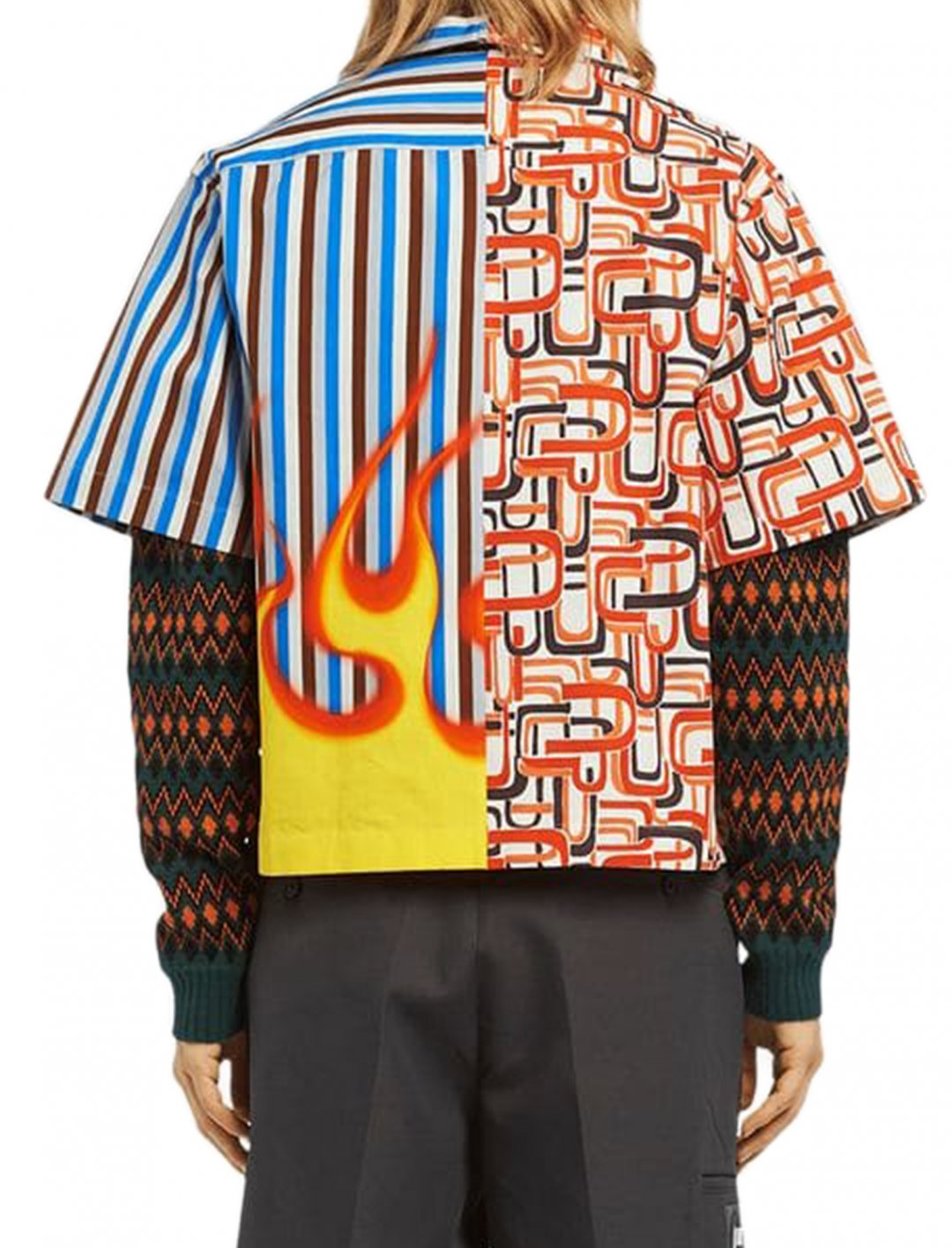 "Khalid's Shirt {""id"":5,""product_section_id"":1,""name"":""Clothing"",""order"":5} Prada"