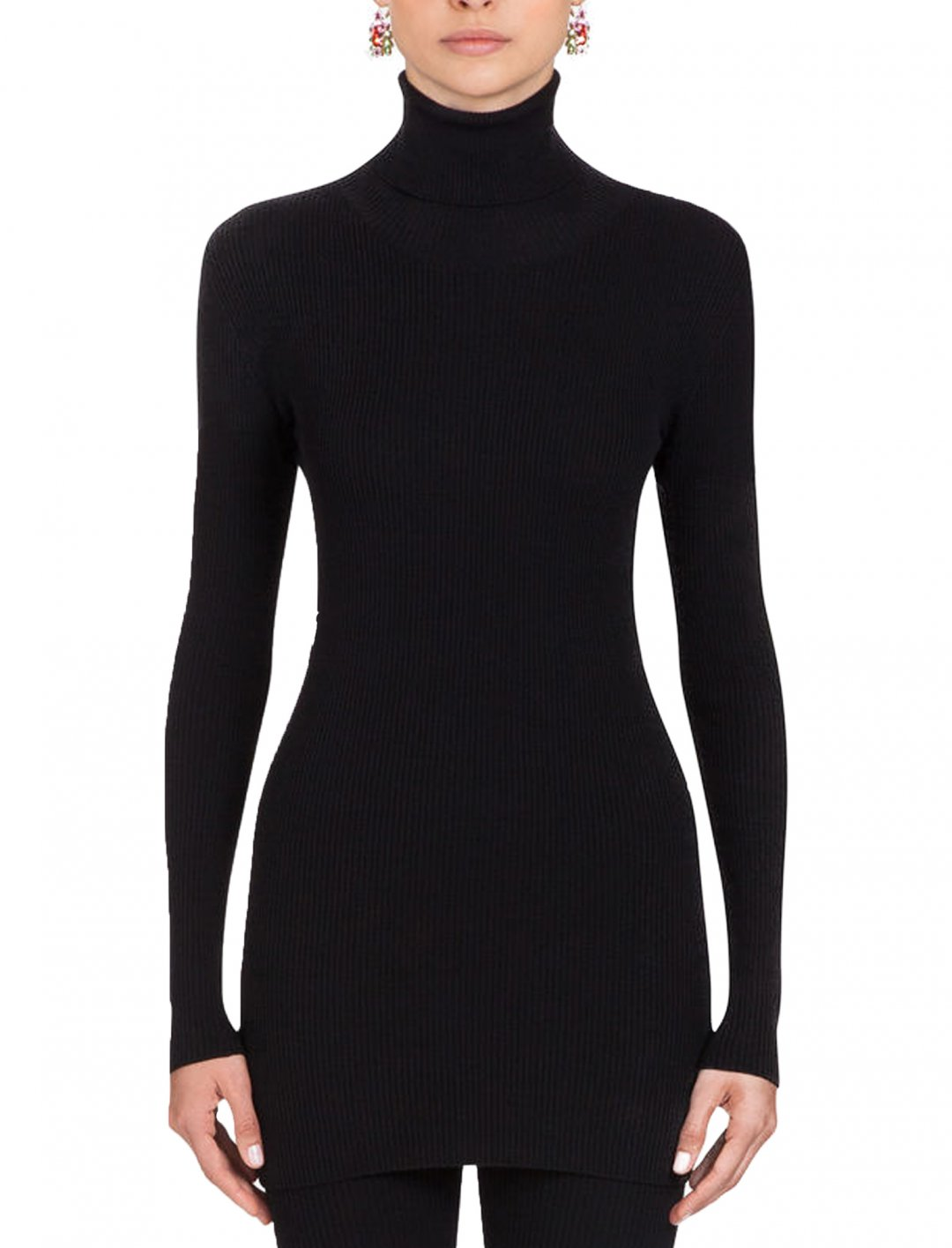 Ribbed Turtleneck Jumper Clothing Dolce & Gabbana