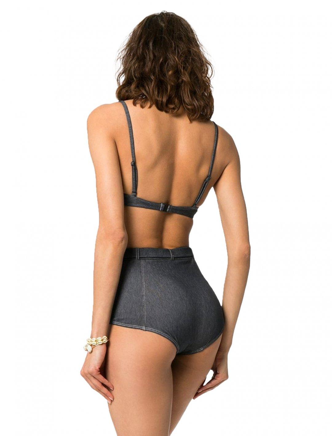 Denim Bikini Clothing Solid & Striped