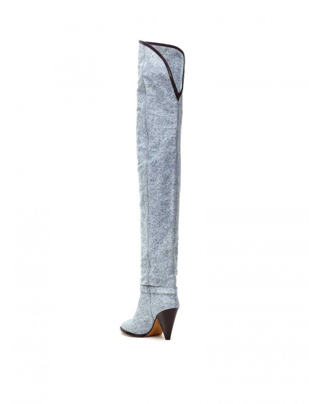 Denim Over-The-Knee Boots Shoes Isabel Marant