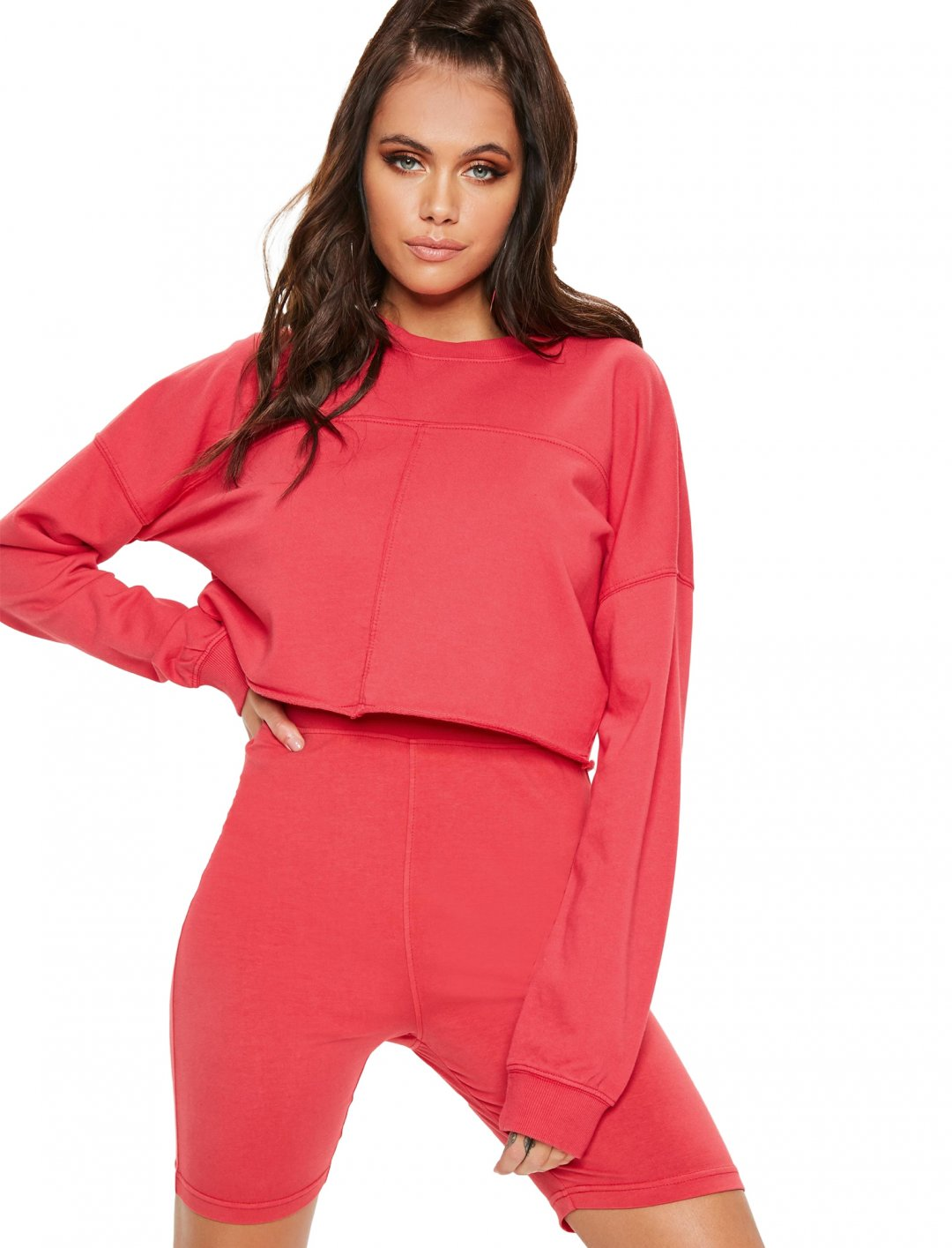 """Mahalia's Cycling Shorts {""""id"""":5,""""product_section_id"""":1,""""name"""":""""Clothing"""",""""order"""":5} Missguided"""