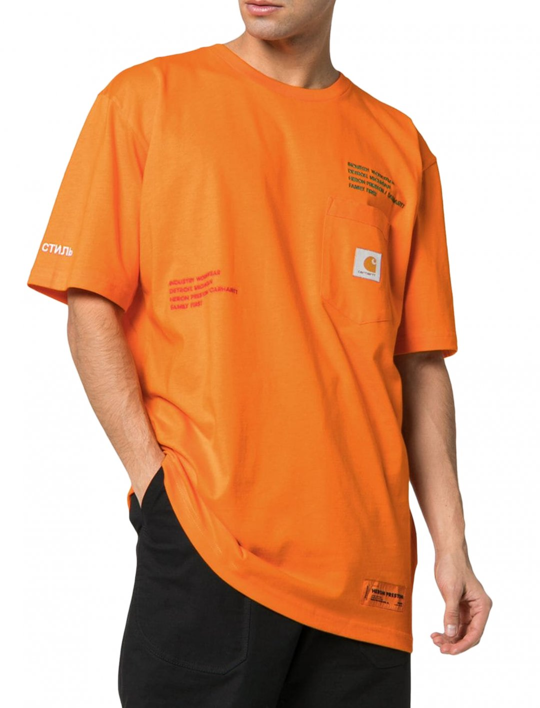 Mahalia's T-Shirt Clothing Heron Preston