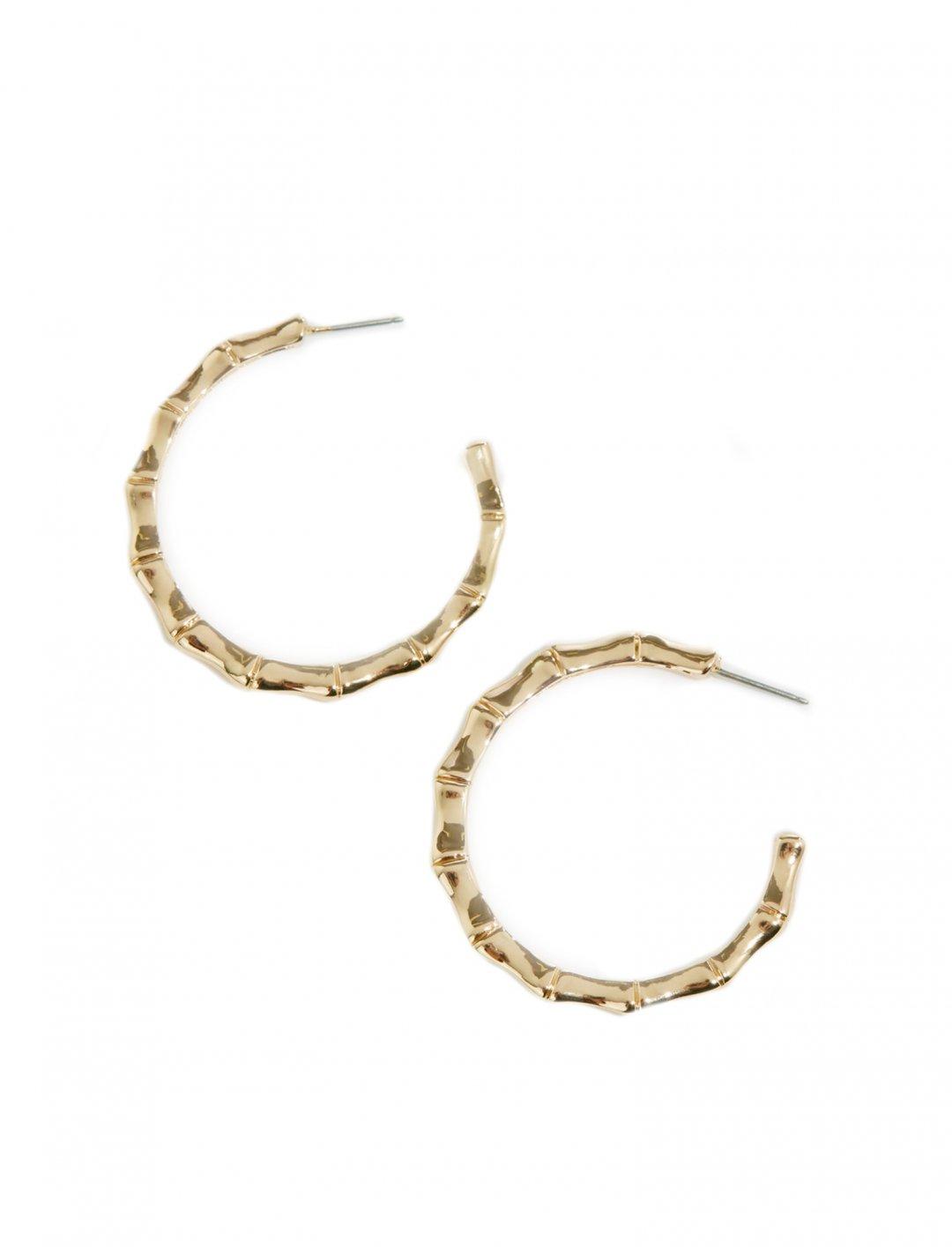 "Bamboo Hoop Earrings {""id"":10,""product_section_id"":1,""name"":""Jewellery"",""order"":10} warehouse"
