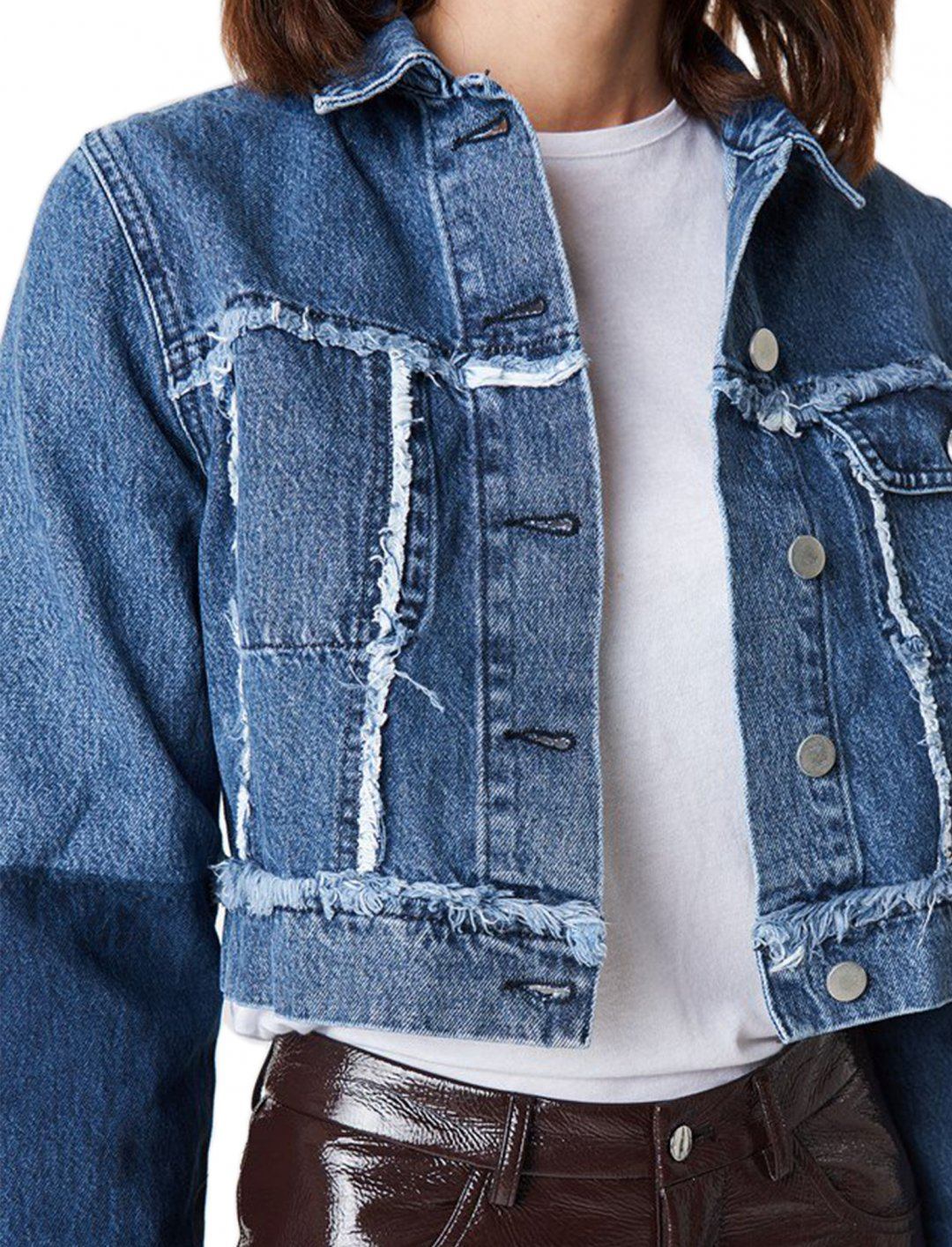 """Cropped Denim Jacket {""""id"""":5,""""product_section_id"""":1,""""name"""":""""Clothing"""",""""order"""":5} NA-KD"""