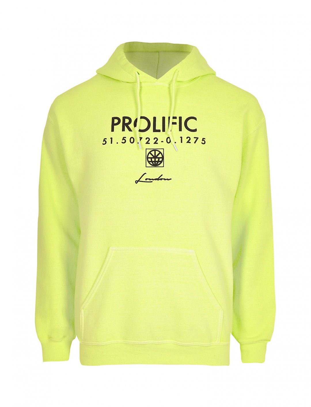 """Hoodie In Neon {""""id"""":5,""""product_section_id"""":1,""""name"""":""""Clothing"""",""""order"""":5} River Island"""