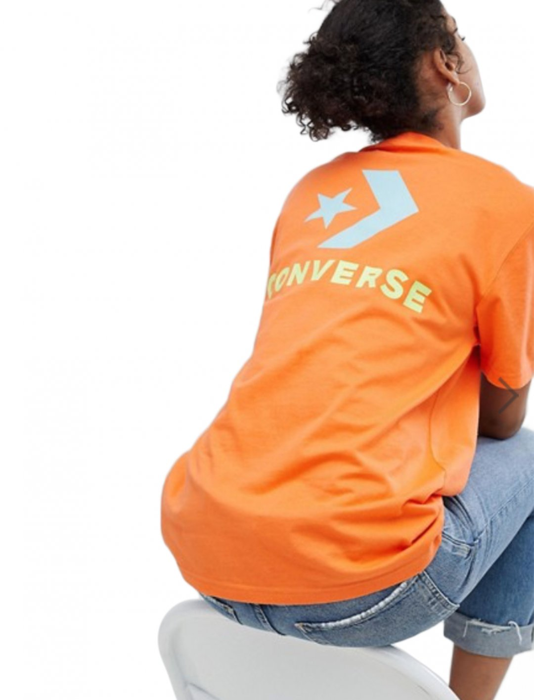 """T-Shirt In Orange {""""id"""":5,""""product_section_id"""":1,""""name"""":""""Clothing"""",""""order"""":5} Converse"""