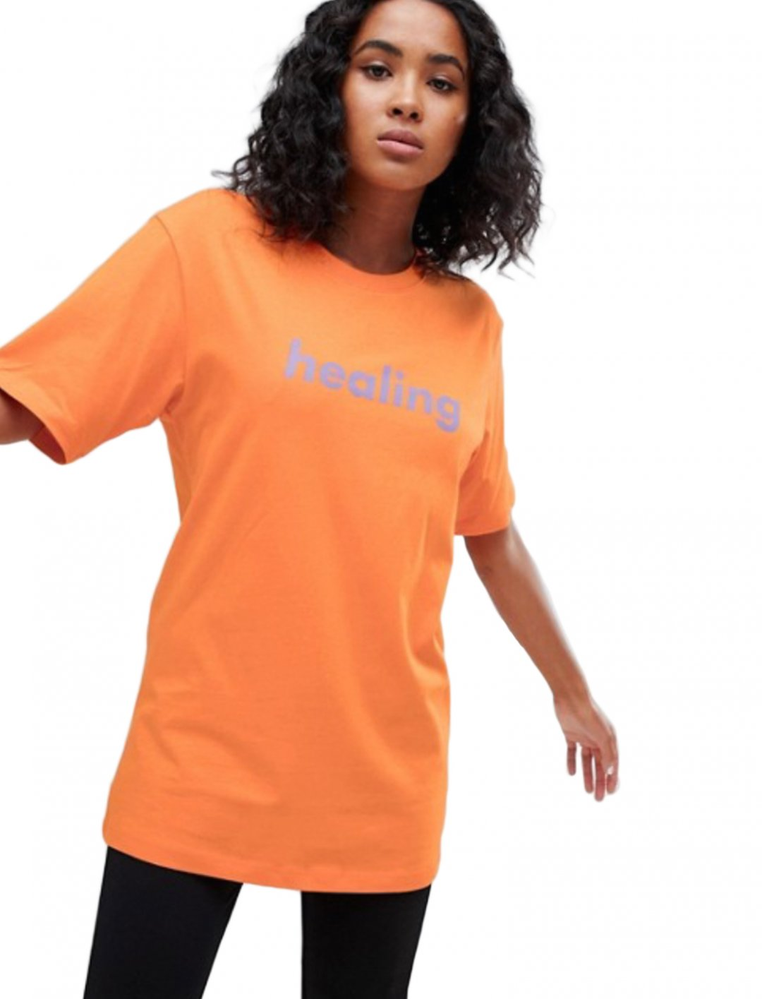 """T-Shirt In Orange {""""id"""":5,""""product_section_id"""":1,""""name"""":""""Clothing"""",""""order"""":5} Weekday"""