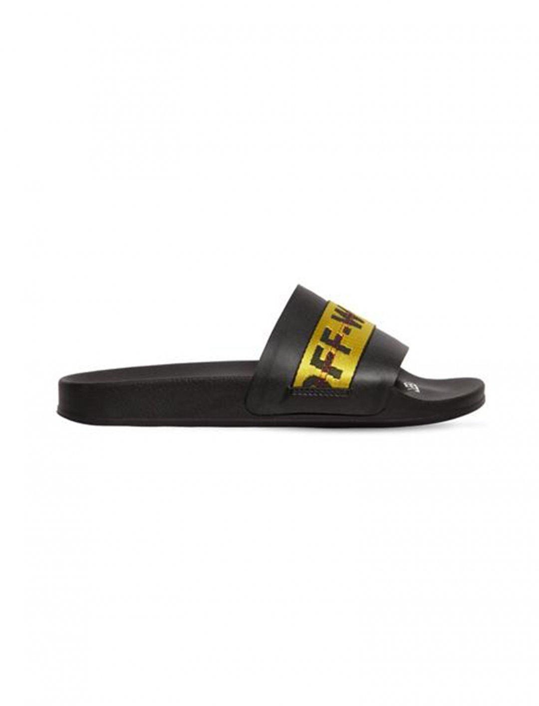 Manj Musik' Slide Sandals Shoes Off-White
