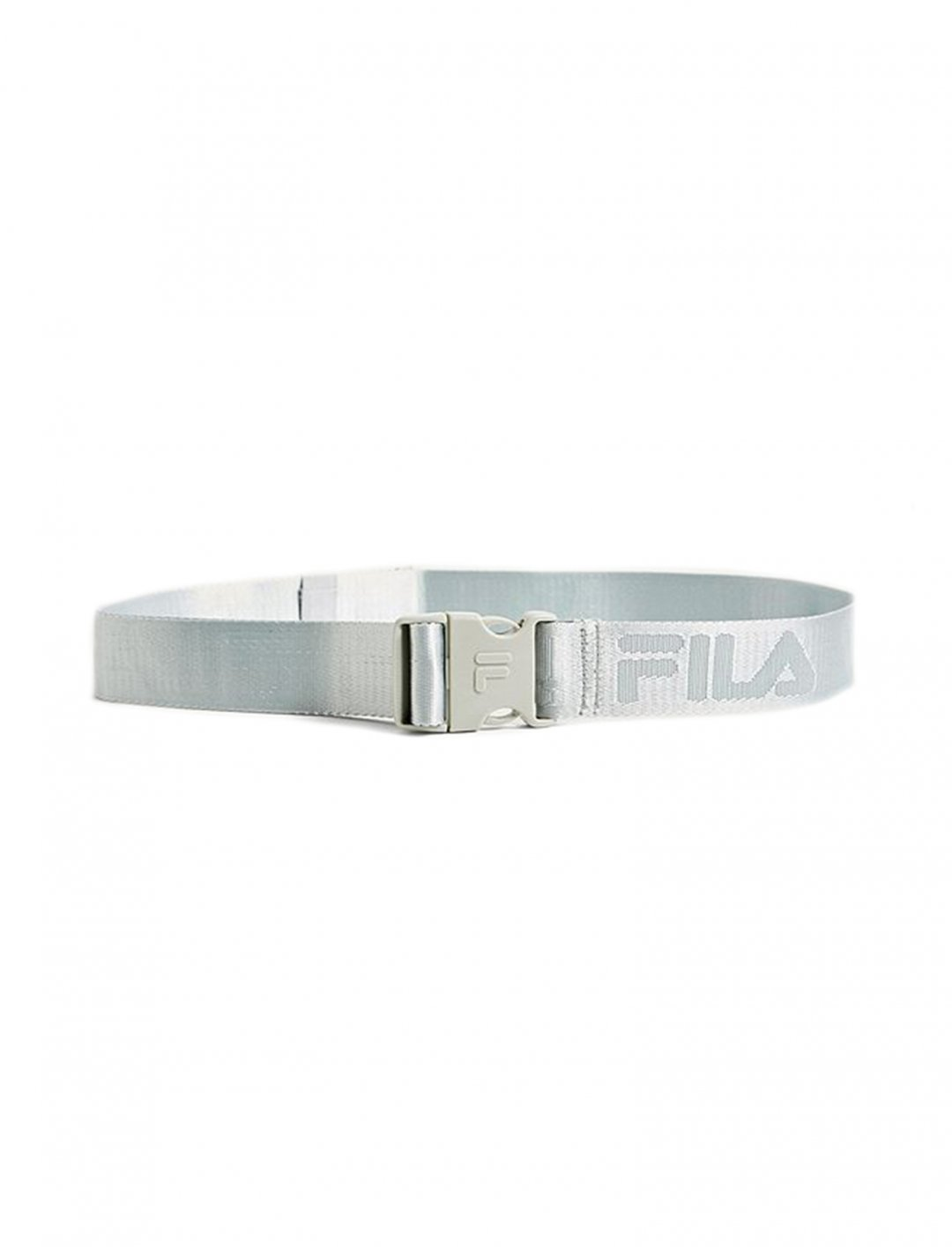 """Belt In Silver {""""id"""":16,""""product_section_id"""":1,""""name"""":""""Accessories"""",""""order"""":15} FILA"""