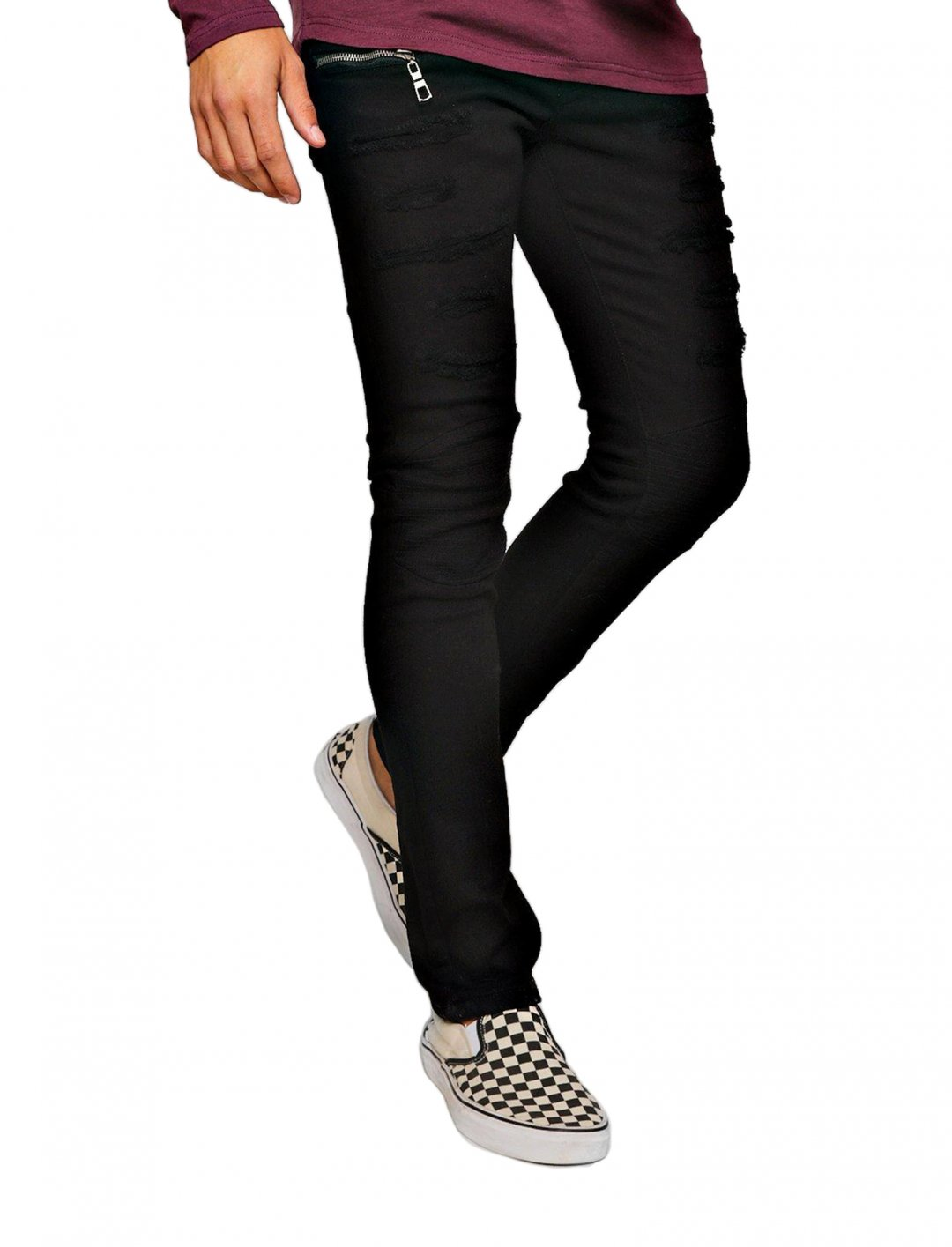 """Biker Jeans {""""id"""":5,""""product_section_id"""":1,""""name"""":""""Clothing"""",""""order"""":5} boohoo"""