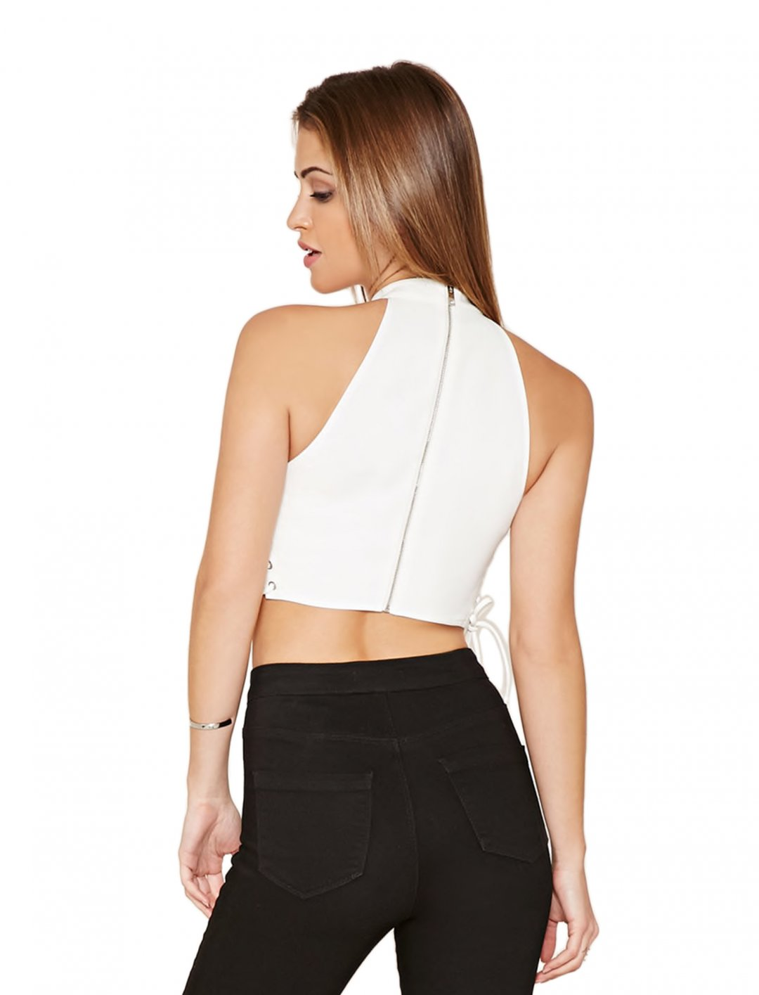 """Crop Top {""""id"""":5,""""product_section_id"""":1,""""name"""":""""Clothing"""",""""order"""":5} Forever 21"""