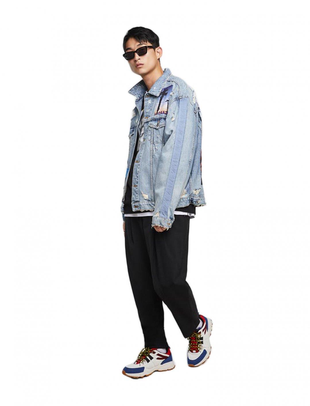 "Mikolas Josef's Denim Jacket {""id"":5,""product_section_id"":1,""name"":""Clothing"",""order"":5} Zara"
