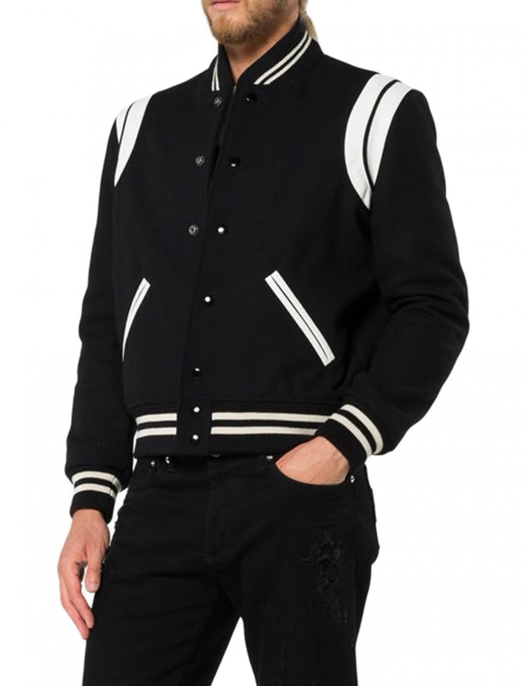"Mikolas Josef's Jacket {""id"":5,""product_section_id"":1,""name"":""Clothing"",""order"":5} Saint Laurent"