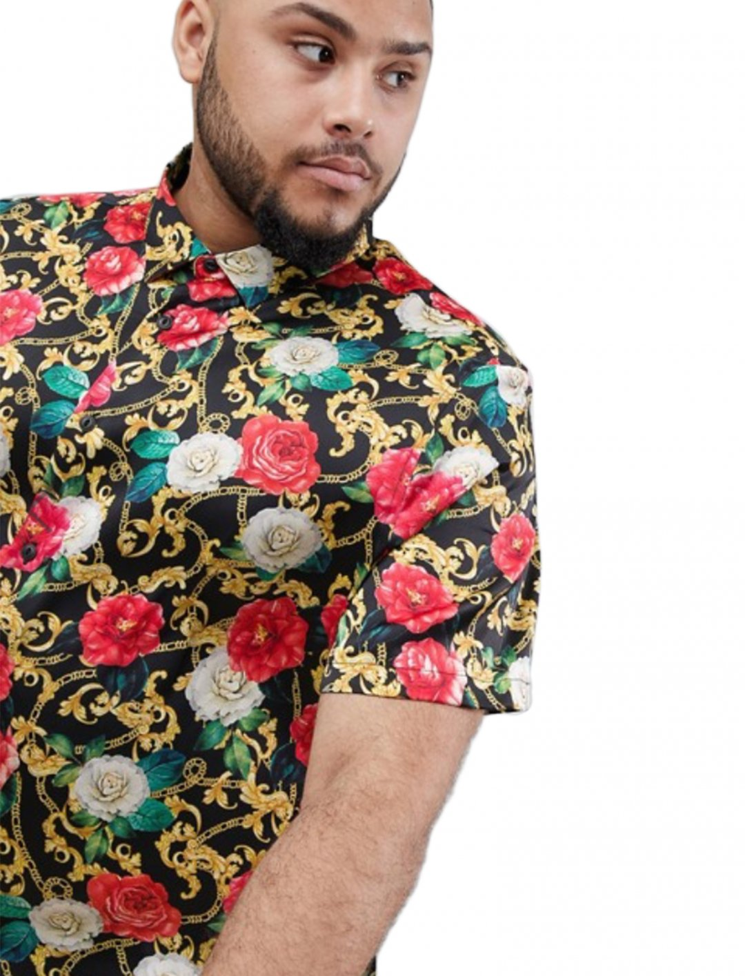 """Printed Shirt {""""id"""":5,""""product_section_id"""":1,""""name"""":""""Clothing"""",""""order"""":5} ASOS DESIGN"""