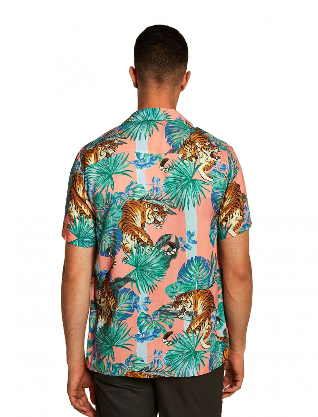 """Shirt With Tiger {""""id"""":5,""""product_section_id"""":1,""""name"""":""""Clothing"""",""""order"""":5} Topman"""
