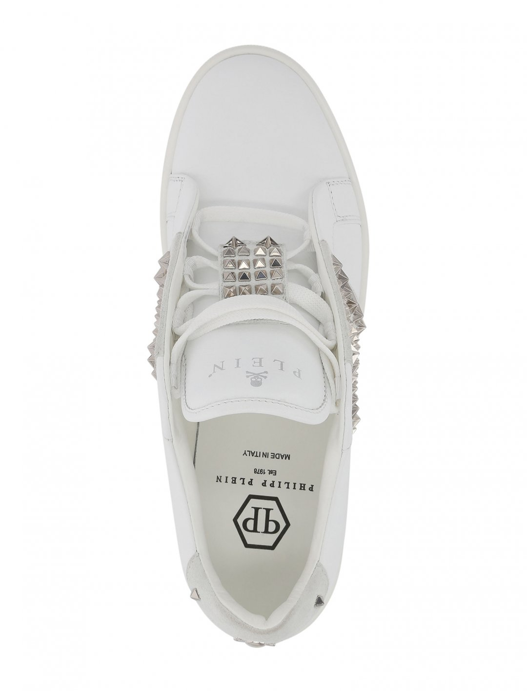"""Sneakers In White {""""id"""":12,""""product_section_id"""":1,""""name"""":""""Shoes"""",""""order"""":12} Philipp Plein"""