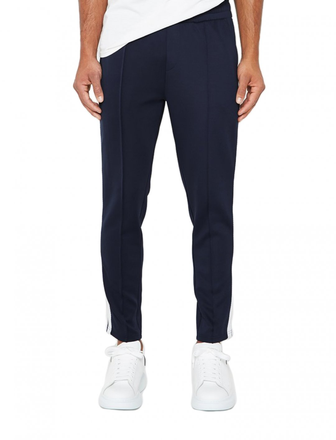 """Trousers With Contrast Tape {""""id"""":5,""""product_section_id"""":1,""""name"""":""""Clothing"""",""""order"""":5} Maniere De Voir"""