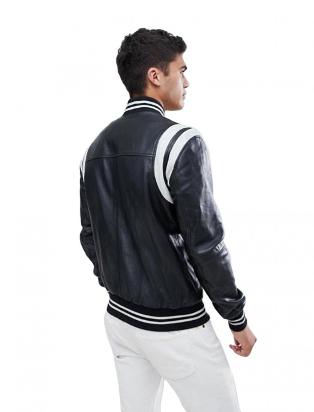 "Varsity Jacket {""id"":5,""product_section_id"":1,""name"":""Clothing"",""order"":5} Barney's Originals"