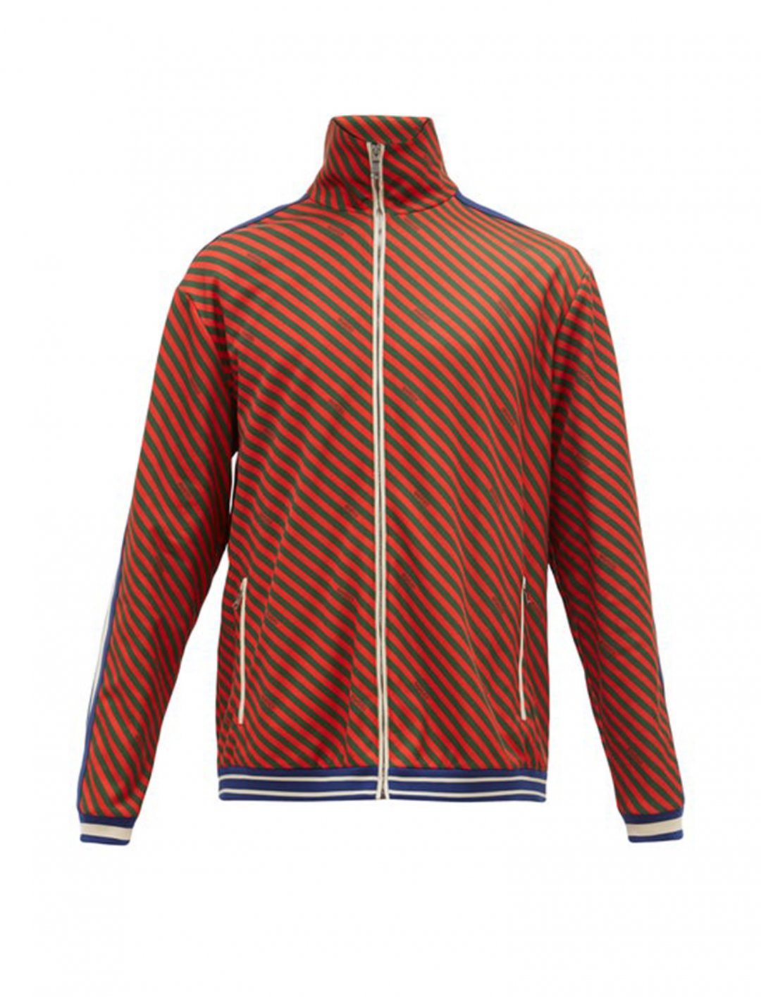 73e943e28 Mist Track Jacket, Striped, Red and Green, Gucci - So High Music Video