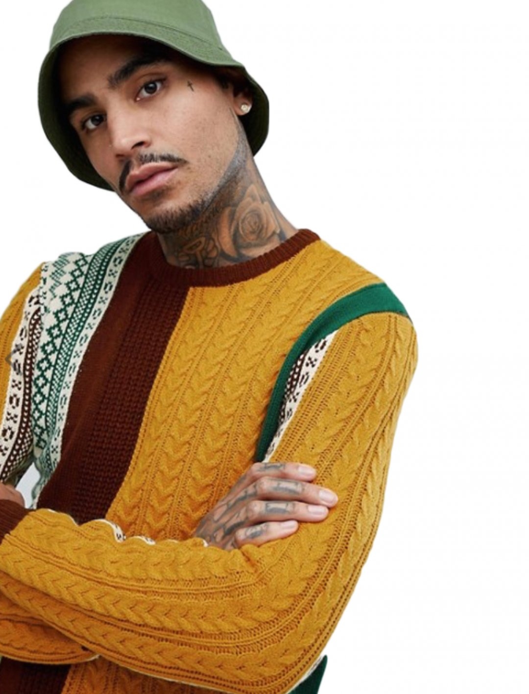 """Cable Knit Jumper {""""id"""":5,""""product_section_id"""":1,""""name"""":""""Clothing"""",""""order"""":5} ASOS DESIGN"""
