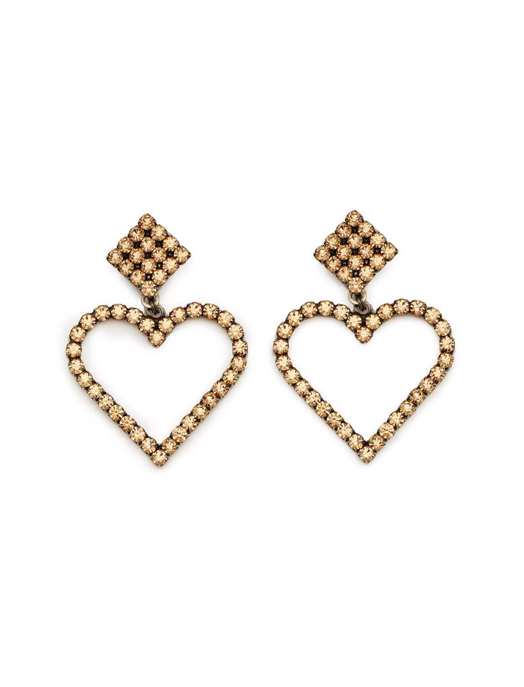 "Heart Earrings {""id"":16,""product_section_id"":1,""name"":""Accessories"",""order"":15} Alessandra Rich"