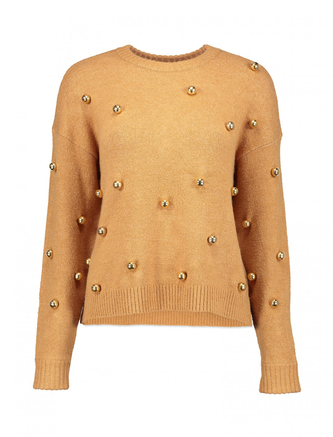 "Metal Ball Sweater {""id"":5,""product_section_id"":1,""name"":""Clothing"",""order"":5} Alice + Olivia"