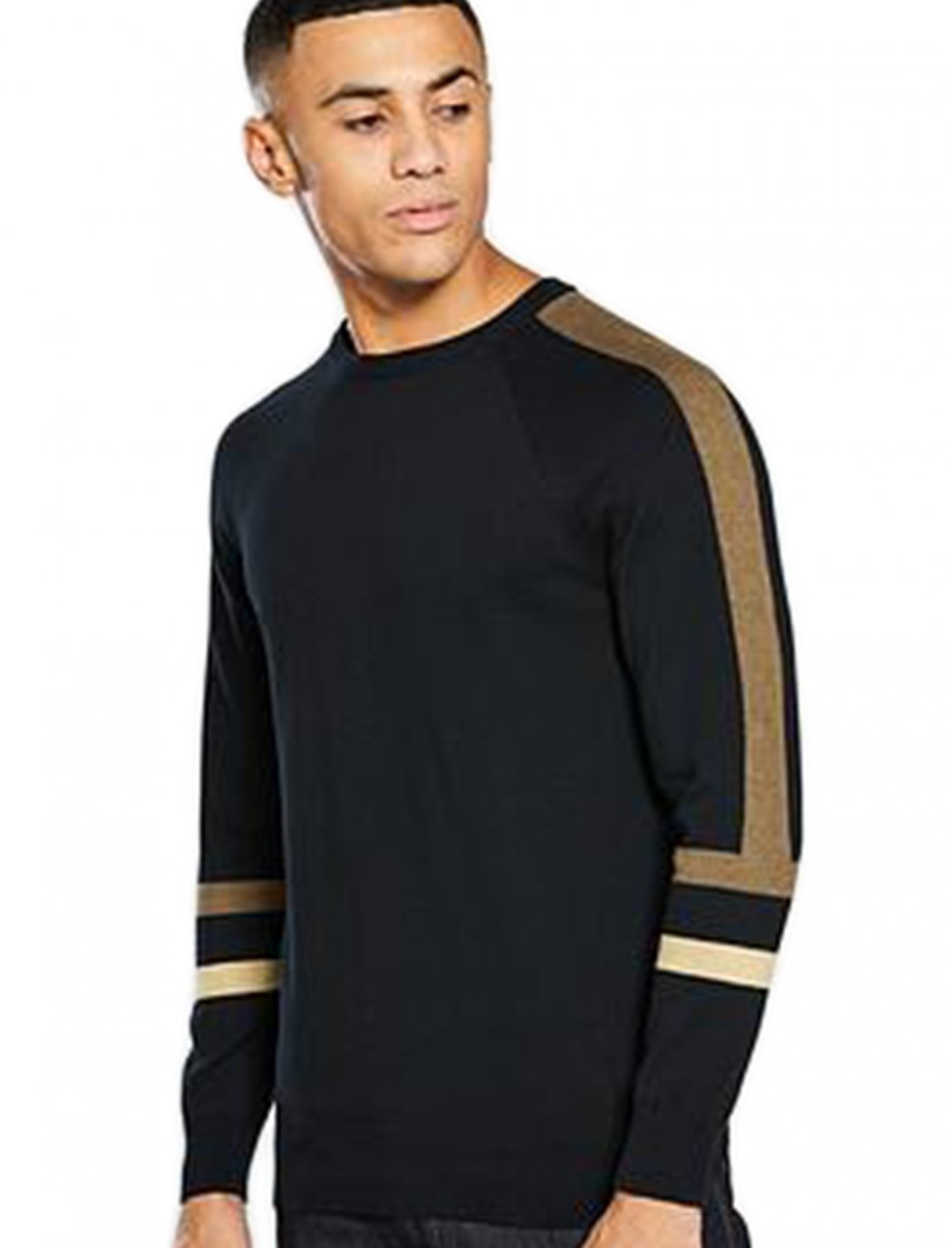 "Panel Knit Jumper {""id"":5,""product_section_id"":1,""name"":""Clothing"",""order"":5} V by Very"