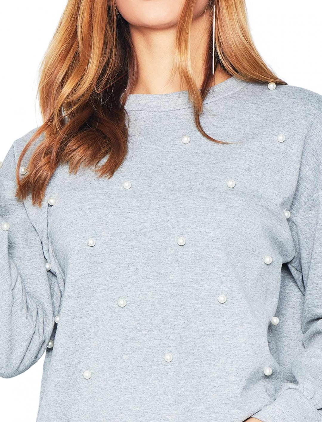 "Pearl Detail Jumper {""id"":5,""product_section_id"":1,""name"":""Clothing"",""order"":5} Missy Empire"