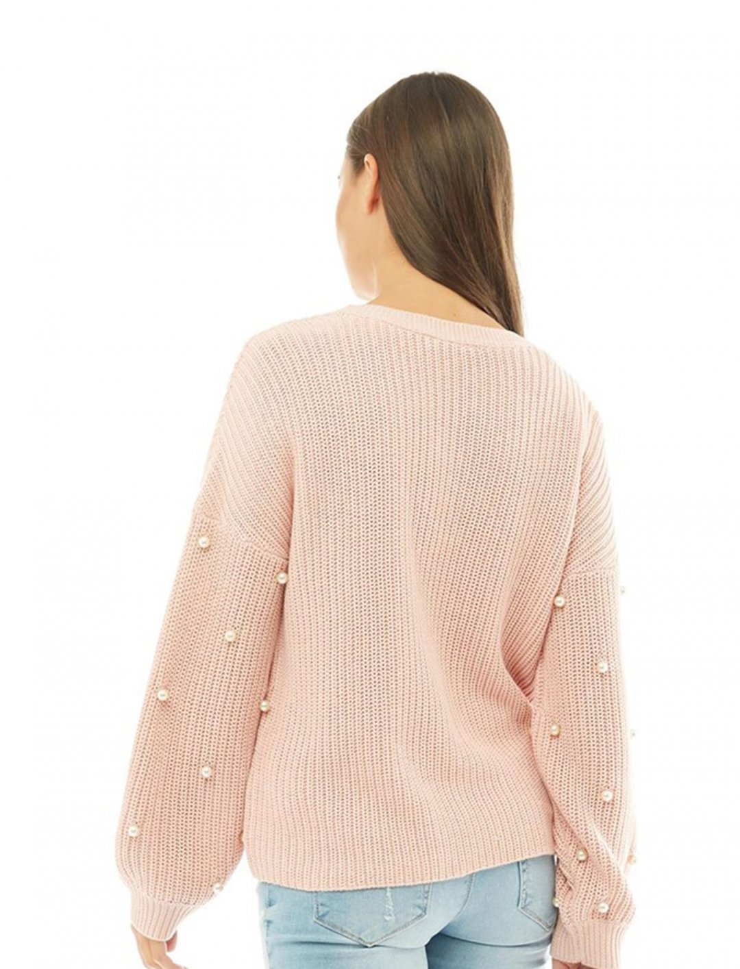 "Pearl Detail Jumper {""id"":5,""product_section_id"":1,""name"":""Clothing"",""order"":5} ONLY"