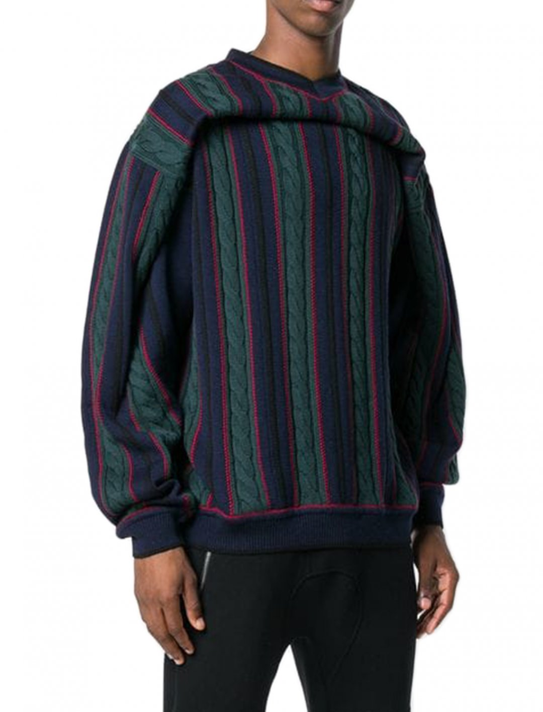 "Striped Jumper {""id"":5,""product_section_id"":1,""name"":""Clothing"",""order"":5} Y/Project"