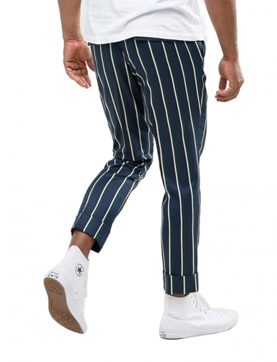 "Trousers In Stripe {""id"":5,""product_section_id"":1,""name"":""Clothing"",""order"":5} ASOS DESIGN"