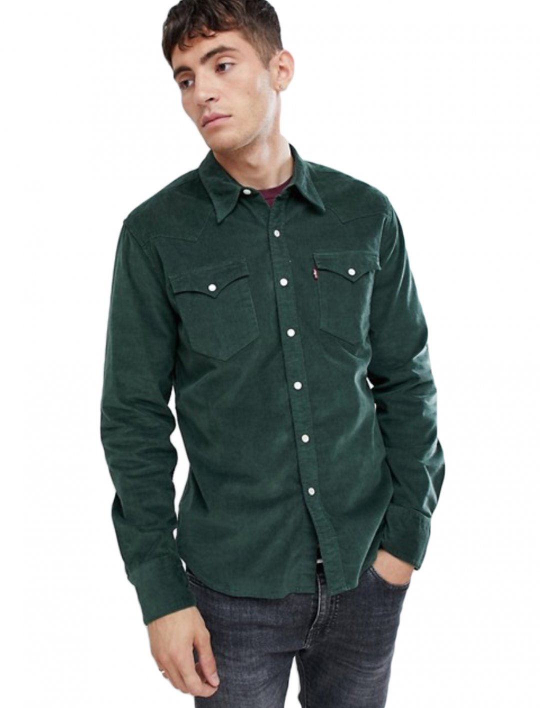 "Western Shirt {""id"":5,""product_section_id"":1,""name"":""Clothing"",""order"":5} Levi's"