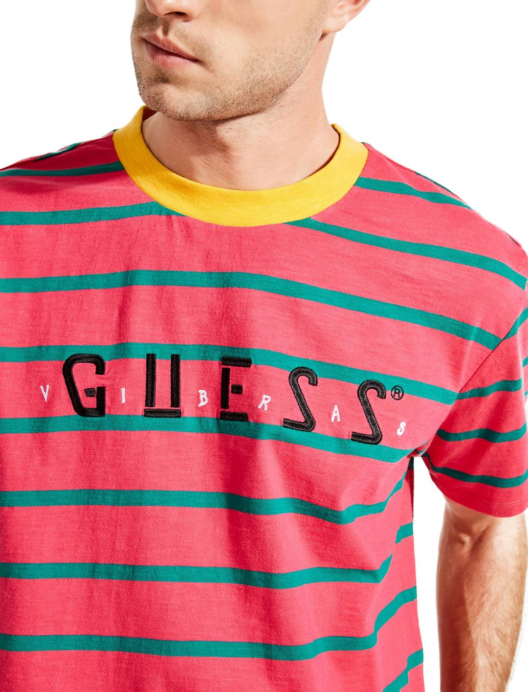Myles' T-Shirt Clothing GUESS X J BALVIN