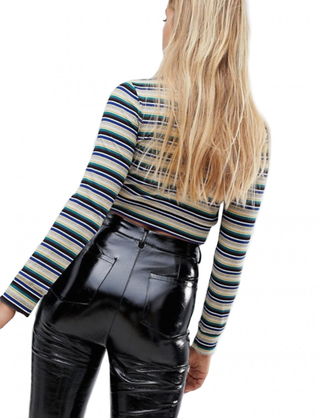 """Striped Crop Top {""""id"""":5,""""product_section_id"""":1,""""name"""":""""Clothing"""",""""order"""":5} Emory Park"""