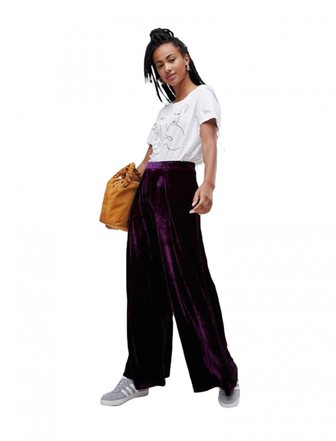 """Velour Track Pants {""""id"""":5,""""product_section_id"""":1,""""name"""":""""Clothing"""",""""order"""":5} Glamorous"""