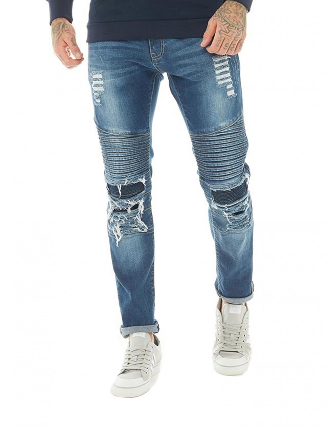 "Biker Jeans {""id"":5,""product_section_id"":1,""name"":""Clothing"",""order"":5} Police"