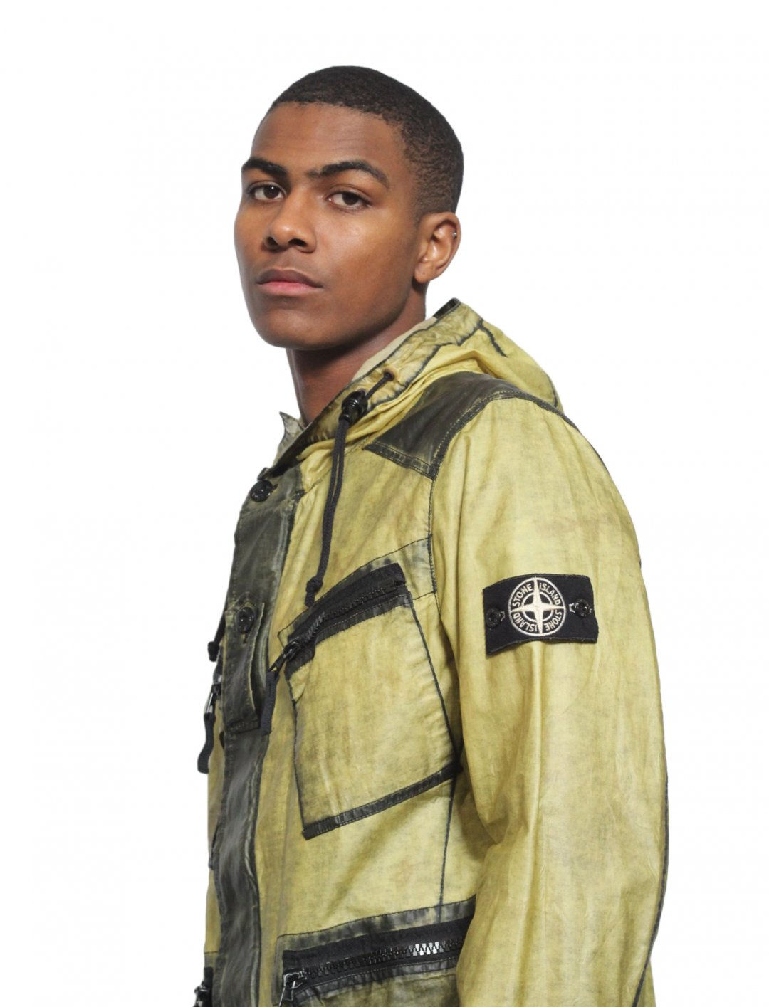 "Headie One's Jacket {""id"":5,""product_section_id"":1,""name"":""Clothing"",""order"":5} Stone Island"