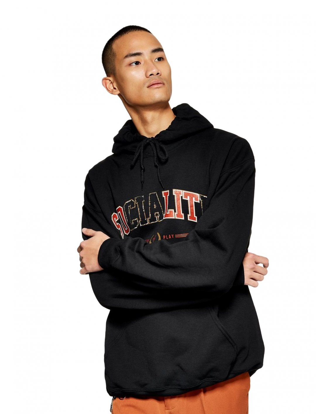 "Hoodie In Black {""id"":5,""product_section_id"":1,""name"":""Clothing"",""order"":5} Topman"