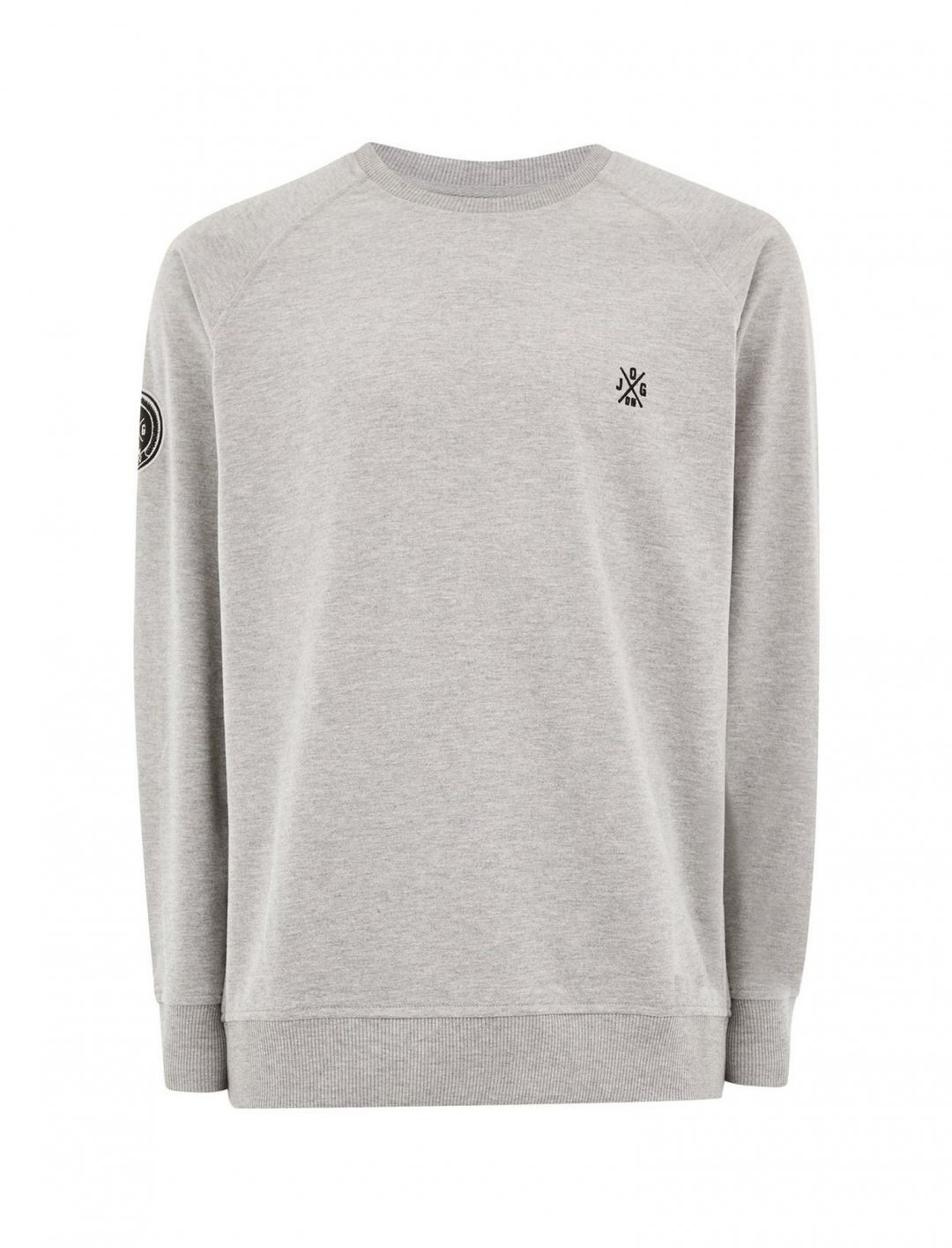 "Sweatshirt In Grey {""id"":5,""product_section_id"":1,""name"":""Clothing"",""order"":5} JOG ON"