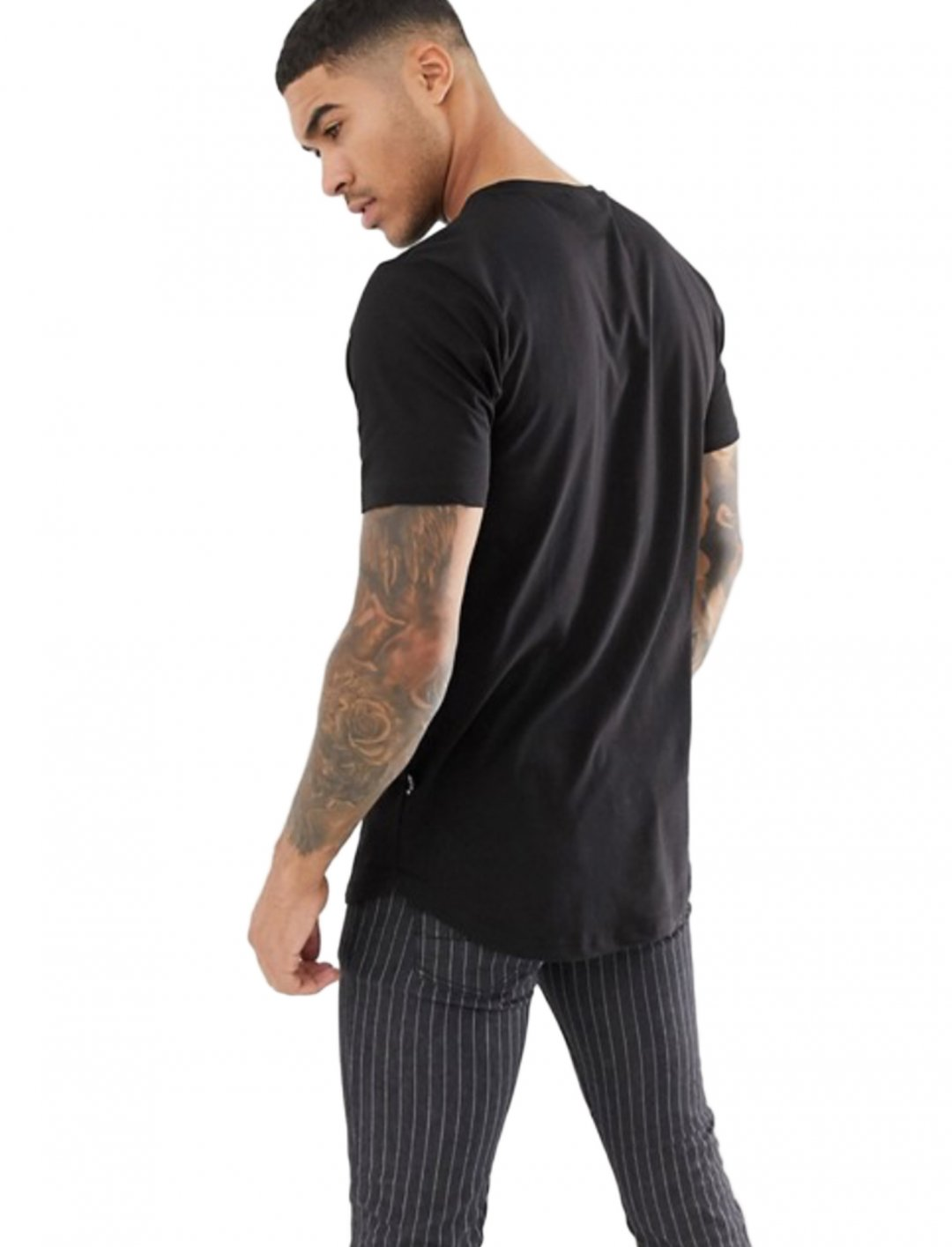 "T-Shirt In Black {""id"":5,""product_section_id"":1,""name"":""Clothing"",""order"":5} Nicce London"