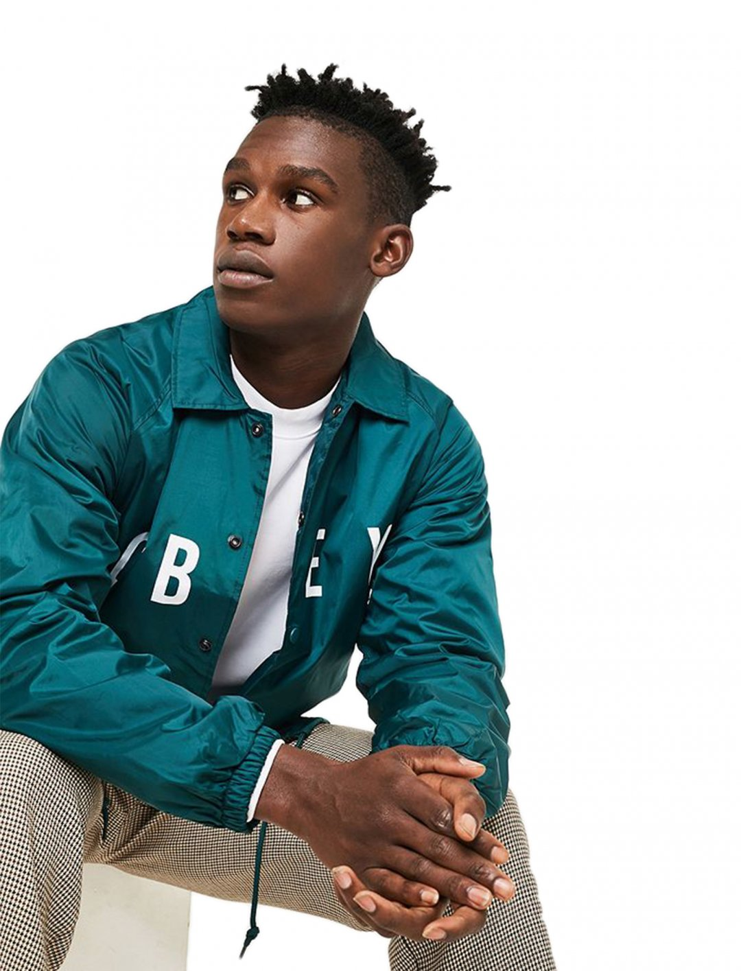 """Coach Jacket {""""id"""":5,""""product_section_id"""":1,""""name"""":""""Clothing"""",""""order"""":5} OBEY"""