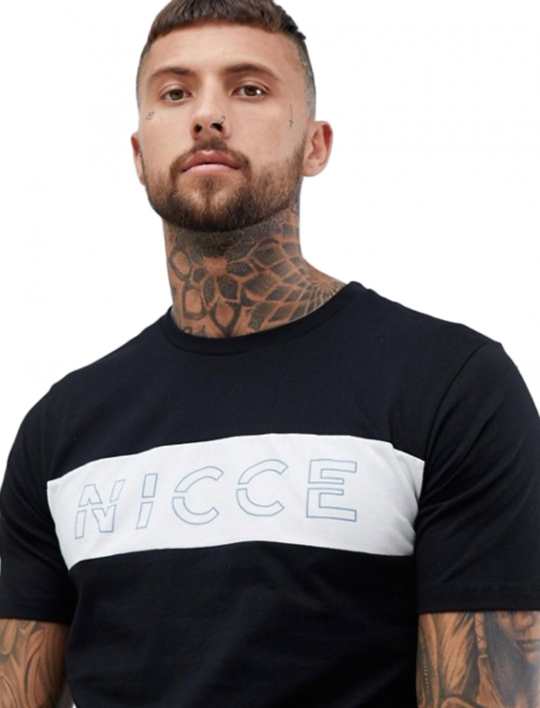 """Logo T-Shirt {""""id"""":5,""""product_section_id"""":1,""""name"""":""""Clothing"""",""""order"""":5} Nicce London"""