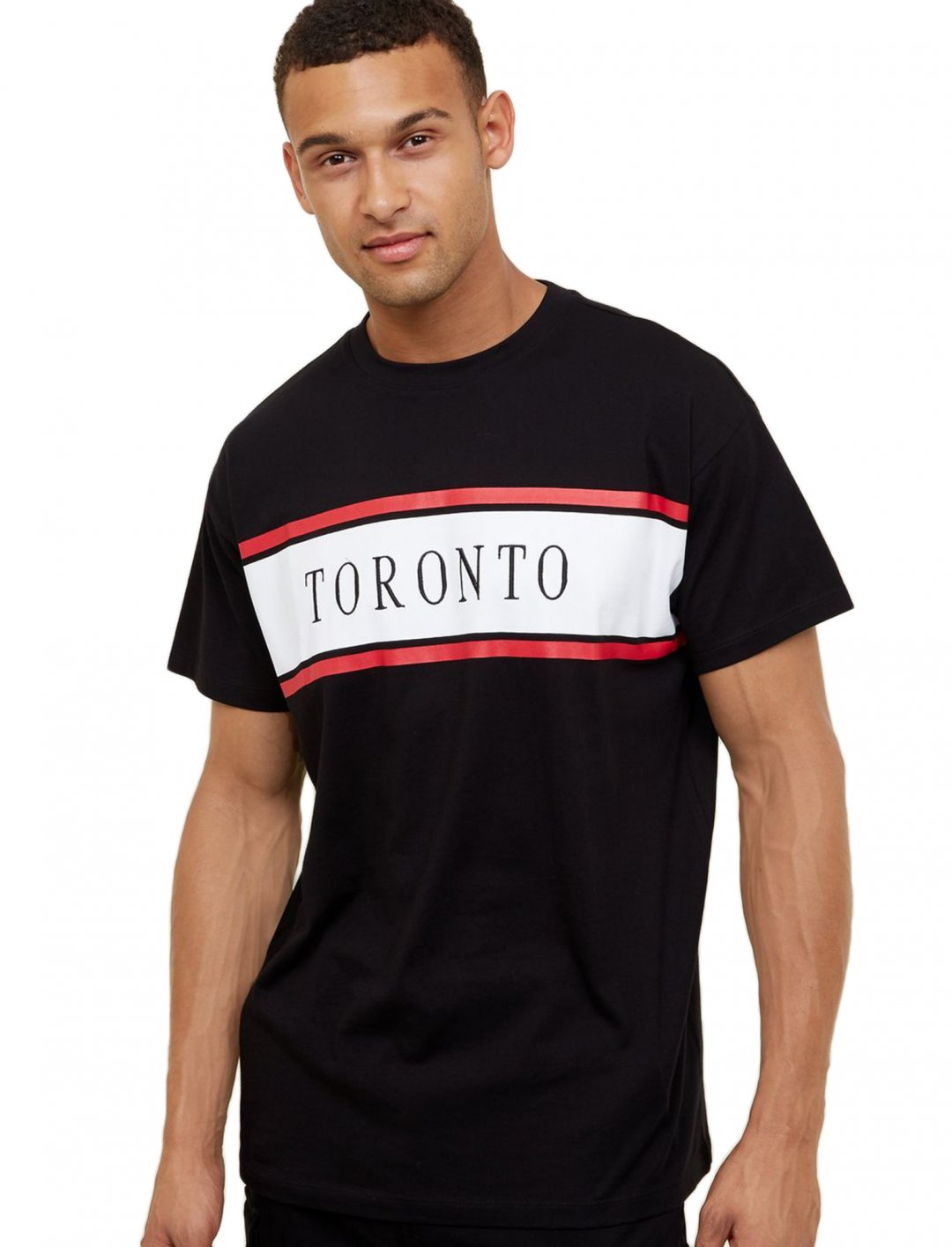 """Panel Embellished T-Shirt {""""id"""":5,""""product_section_id"""":1,""""name"""":""""Clothing"""",""""order"""":5} New Look"""