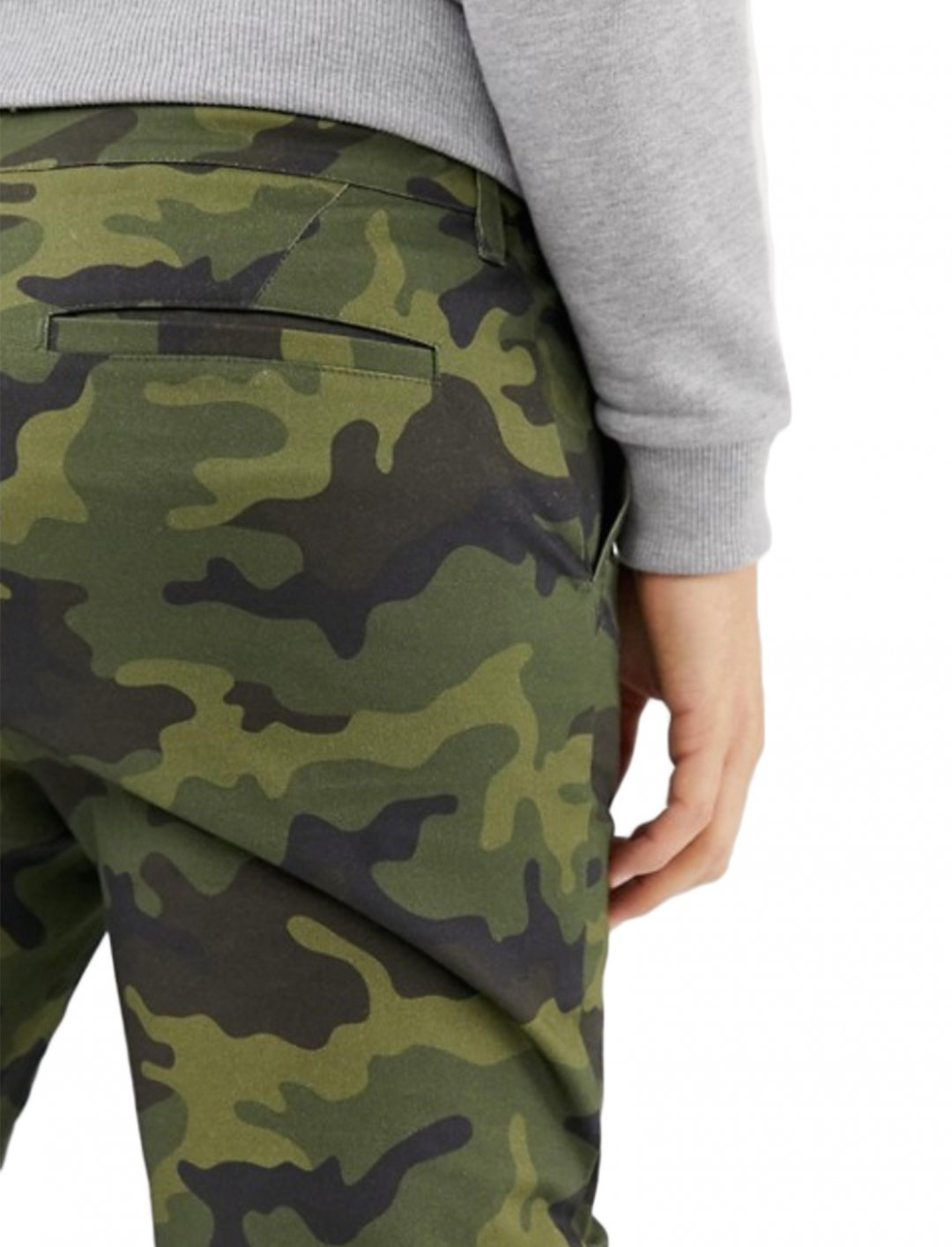 """Trousers In Camo {""""id"""":5,""""product_section_id"""":1,""""name"""":""""Clothing"""",""""order"""":5} ASOS DESIGN"""