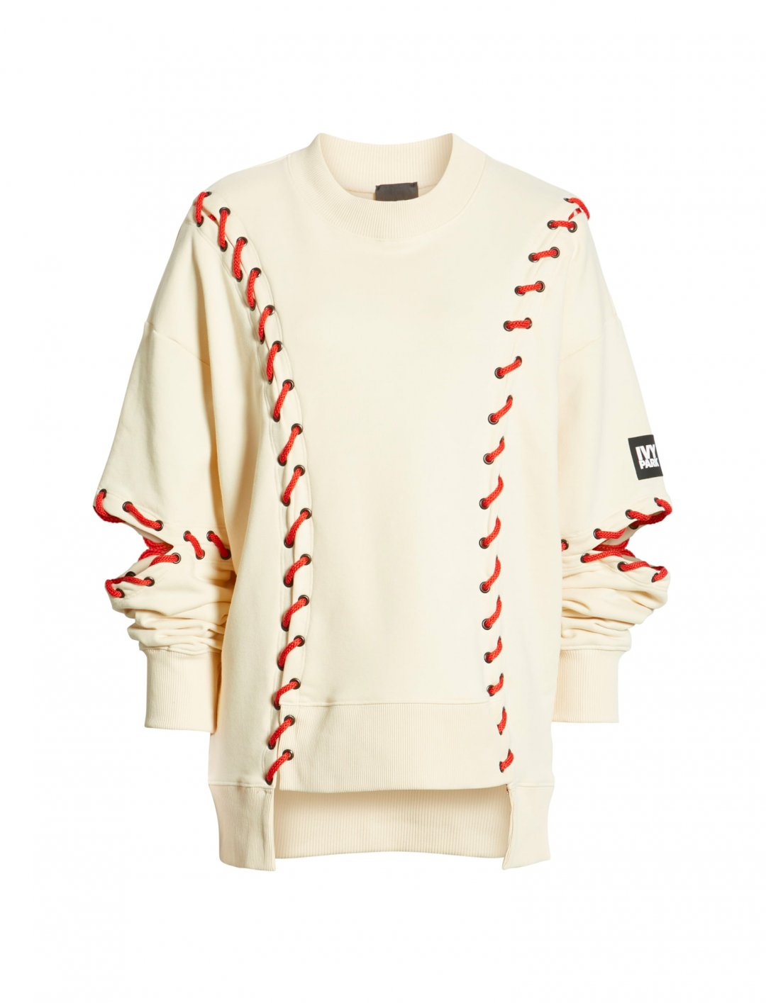 "Baseball Stitch Sweatshirt {""id"":5,""product_section_id"":1,""name"":""Clothing"",""order"":5} Ivy Park"