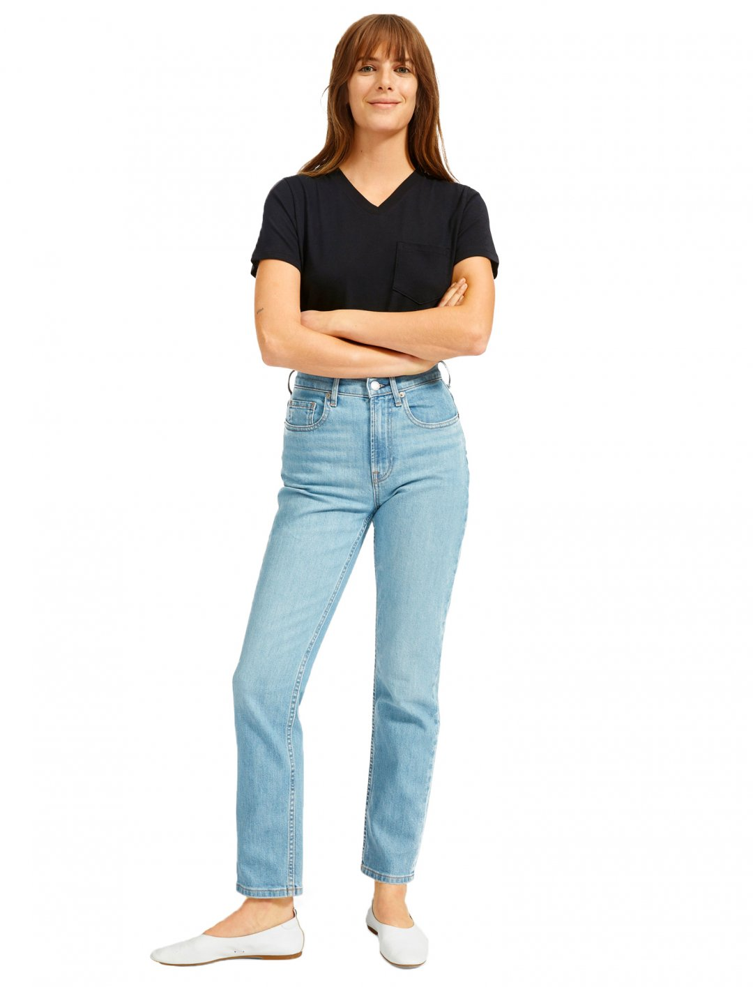 "Basic T-shirt {""id"":5,""product_section_id"":1,""name"":""Clothing"",""order"":5} Everlane"