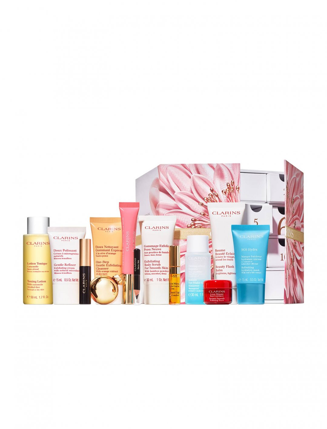 "Beauty Advent Calendar {""id"":2,""product_section_id"":1,""name"":""Beauty"",""order"":2} Clarins"